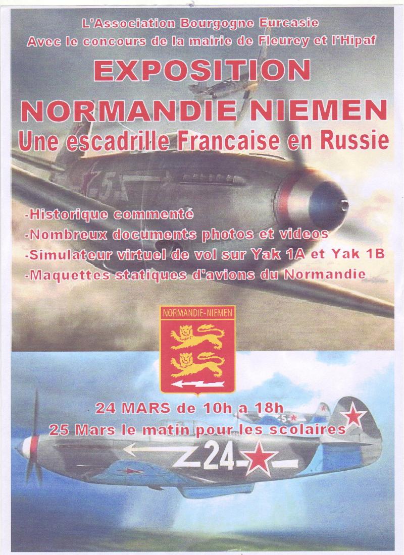 Affiche Normandie- Niemen